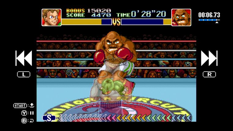 Screenshot uit 'Super Punch-Out!' Beeld Nintendo