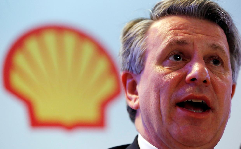 Shell-topman Ben van Beurden Beeld REUTERS