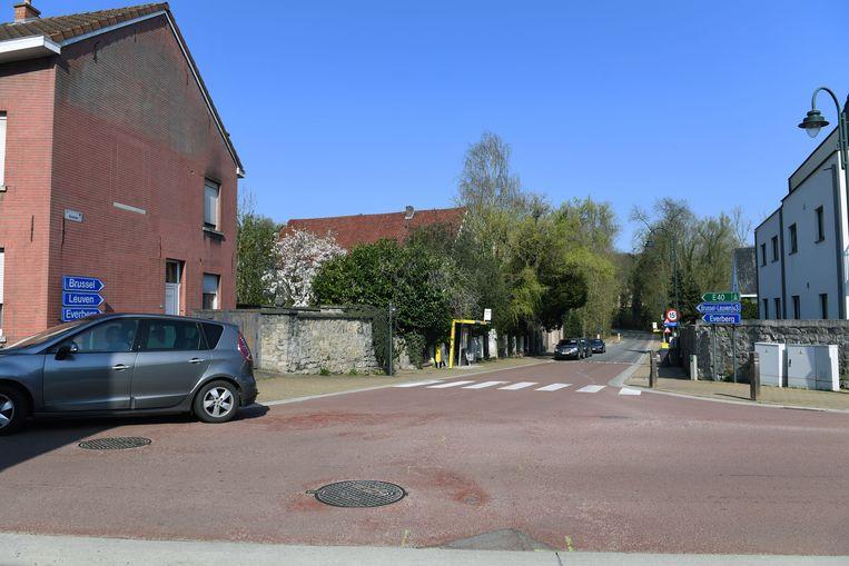 Kruispunt Dorpstraat Boskee in Leefdaal