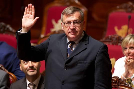 Steven Vanackere, l'ex-ministre des Affaires étrangères