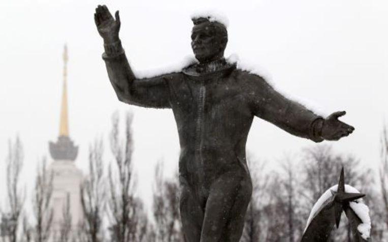 Standbeeld van Joeri Gagarin in Moskou. EPA Beeld