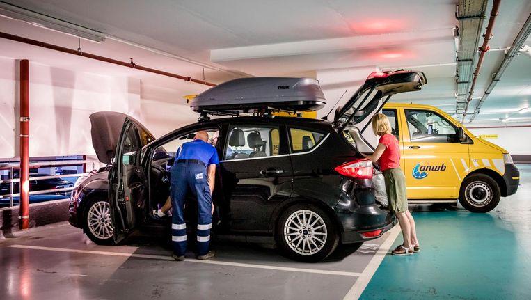 Eerder deze week waarschuwde de ANWB al voor drukte op snelwegen in Frankrijk, Duitsland en Italië Beeld anp