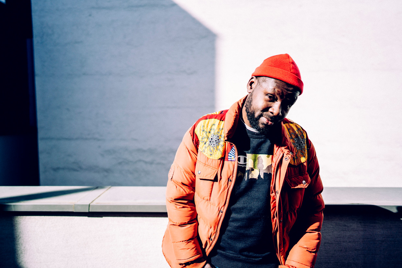 In de hiphopwereld is Pitcho Womba Konga al langer een grote naam als rapper en producer. Beeld © Stefaan Temmerman