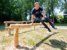 Obstacle parcours in Apeldoorn prooi voor vandalen