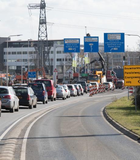 Weurt boos over afsluiting van Industrieweg