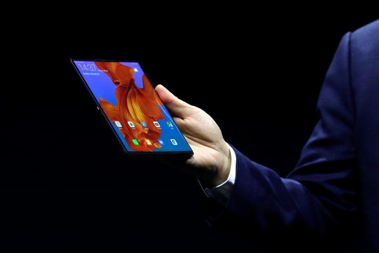 Opvouwbare telefoons, het nieuwe mobiele hebbeding waarvoor u diep in de buidel moet tasten. Beeld AP