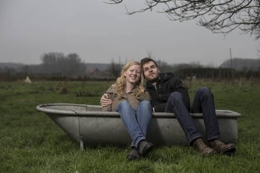 Hanna en Harald stappen op 27 augustus in het huwelijksbootje.