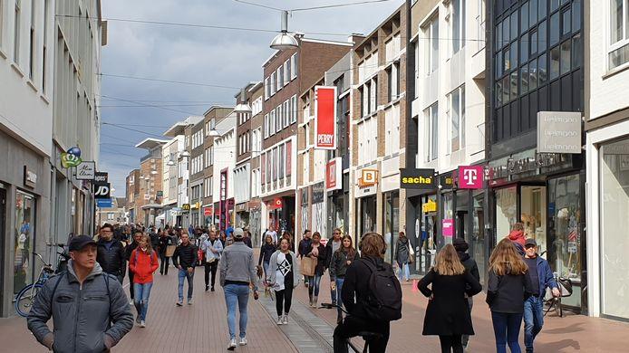 Drukte in de Broerstraat in Nijmegen vorig weekend.