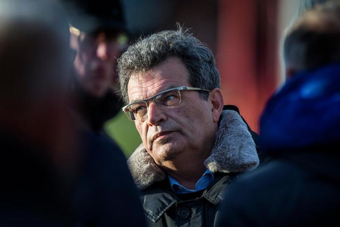 Technisch directeur Ted van Leeuwen van FC Twente.
