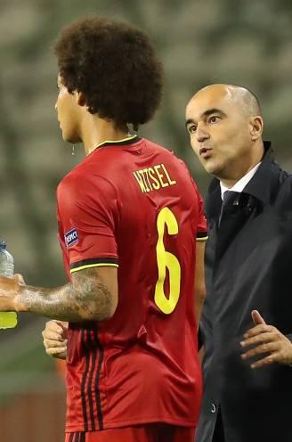 """Martinez hoopt op fitte Witsel na groepsfase op EK, beslissing valt op 7 juni: """"Axel zit voor op elk schema"""""""