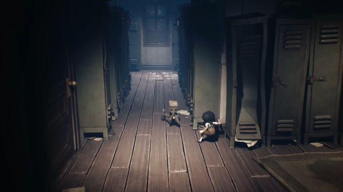 Het is vooral puzzelen en sluipen in 'Little Nightmares II', maar soms komt er ook geweld in 't spel.