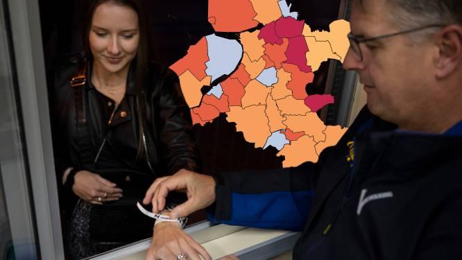 KAART | Coronasituatie in Staphorst en omliggende plaatsen blijft zeer zorgelijk, slechts één gemeente in regio op nul