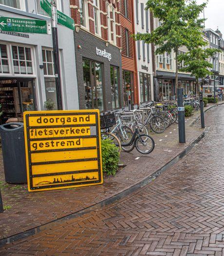 Fietsverbod in hartje Zwolle? D66 en SP: kan toch niet zomaar in 'beste fietsstad van de wereld?'
