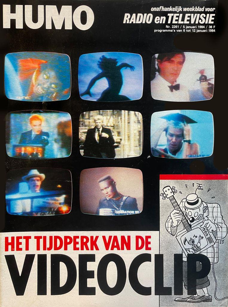 Humo-cover januari 1984 Beeld Humo