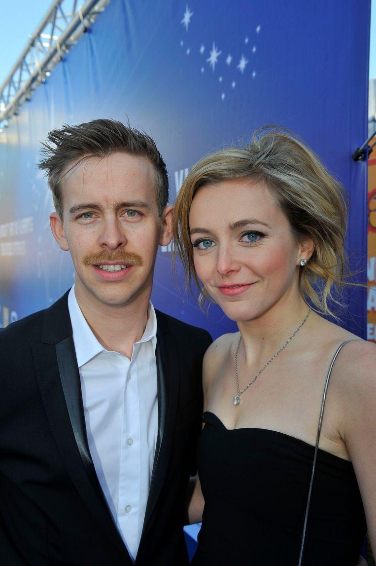 Jonas Van Geel is al enkele jaren samen met actrice Evelien Bosmans. Samen verwachten ze nu een kindje. Archieffoto.