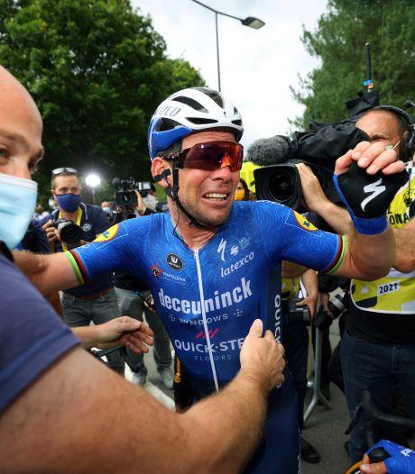Cavendish in tranen om boodschap Jakobsen: 'Na alles wat hij heeft meegemaakt...'