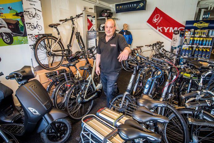 """Hilco Oude Heuvel: """"Het kan toch niet zo zijn dat deze mannen voor minstens 15.000 euro aan fietsen stelen en daar zo eenvoudig mee wegkomen? Dit is geen incident meer."""""""