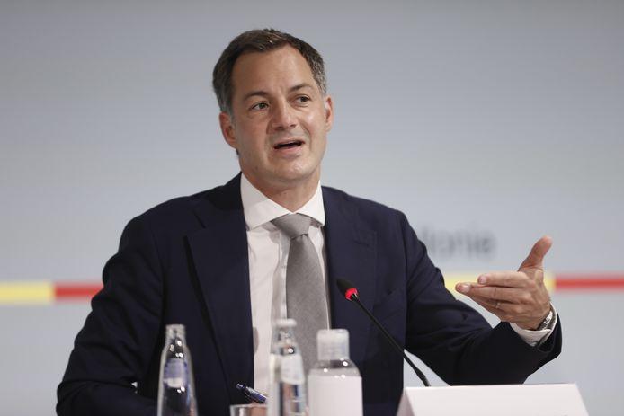 Le Premier ministre Alexander De Croo a assuré que le fédéral continuera à aider les sinistrés.