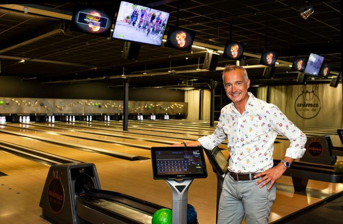 Johnny Crijns is blij dat zijn Wima Bowling binnenkort weer open kan gaan.