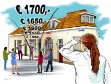 Ook (over)bieden op de huurmarkt: 'Zo wordt het wel heel moeilijk een woning te vinden'