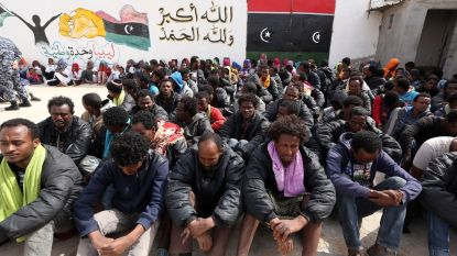 162 migranten in barre omstandigheden op Middellandse Zee onderschept