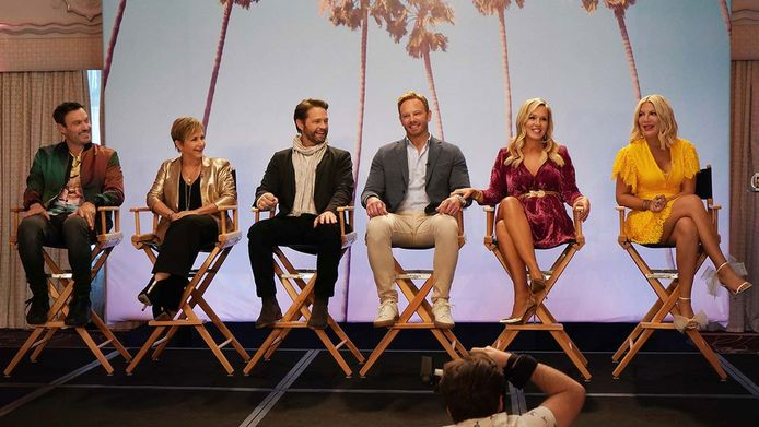 Les acteurs de Beverly Hills 90210 sont de retour.