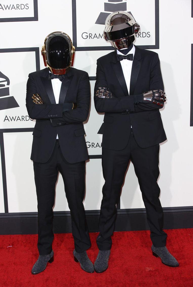 Daft Punk op de Grammy Awards Beeld photo_news