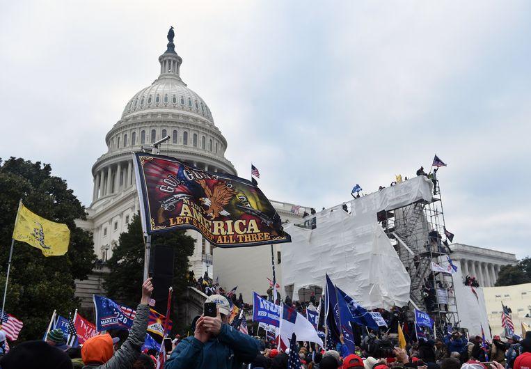 'De term 'alt right' maakt extremisme en white supremacy cool: het klinkt bijna als een grungeband uit Seattle.'  Beeld Photo News