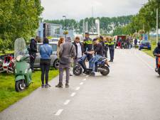 Zwaargewonde bij vermoedelijke illegale straatrace in buitengebied ten zuiden van Arnhem