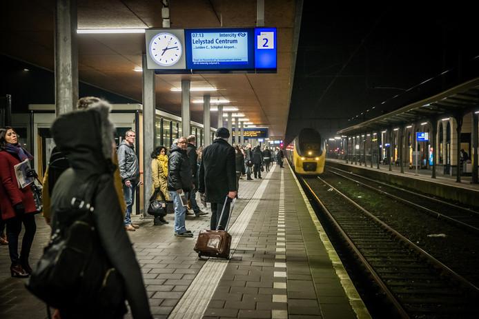 Het station in Middelburg.