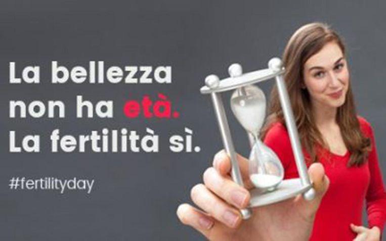 De Italiaanse overheid heeft 22 september uitgeroepen tot Nationale Vruchtbaarheidsdag. Met de slogan 'schoonheid is tijdloos, vruchtbaarheid niet' niet worden vrouwen aangemoedigd kinderen te krijgen.