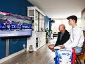 De Giro vanaf de bank in De Meern: 'Ik dacht vanmiddag wel een paar keer: ga nou van kop af'