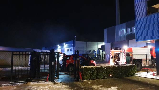 Zware brandschade in productiehal van M.I.P. aan Vaart