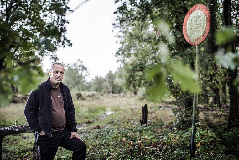 Jan Loos van Welkom Wolf. Beeld Bob Van Mol