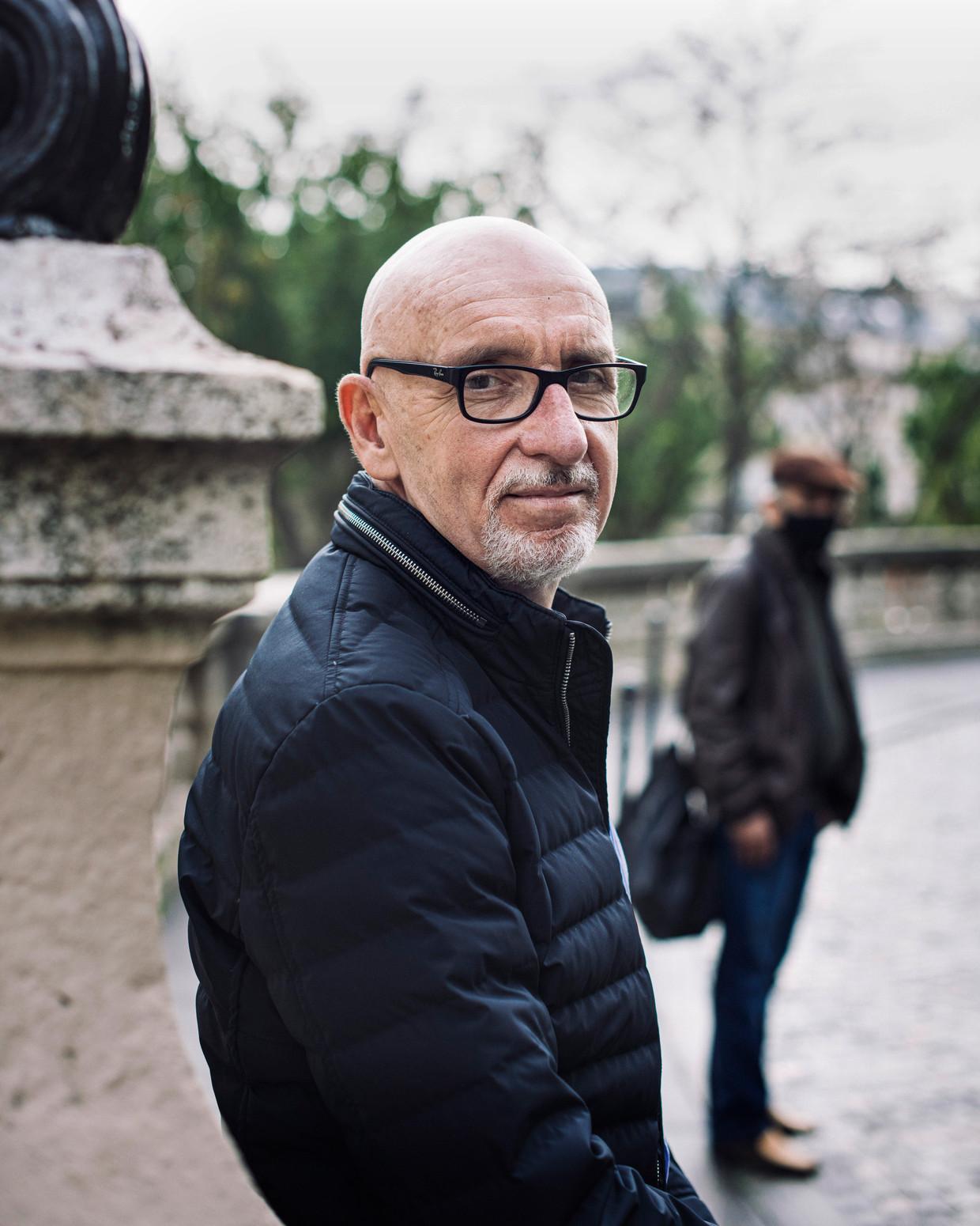 Georges Salines en Azdyne Amimour (onherkenbaar). Beeld Bart Koetsier