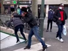 Une femme violemment poussée dans les escaliers du métro parisien