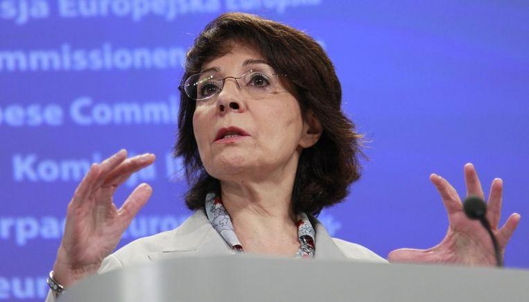 Maria Damanaki. Beeld EPA