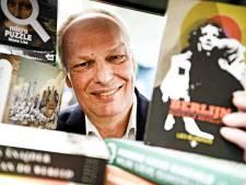 Bij Kees Schafrat van Hengelose boekhandel Broekhuis is muziek nooit ver weg