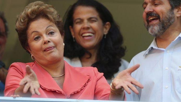 Dilma Rousseff, présidente du Brésil