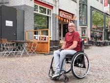 In een rolstoel door de Amersfoortse binnenstad? Nou, dat is net een hindernisbaan