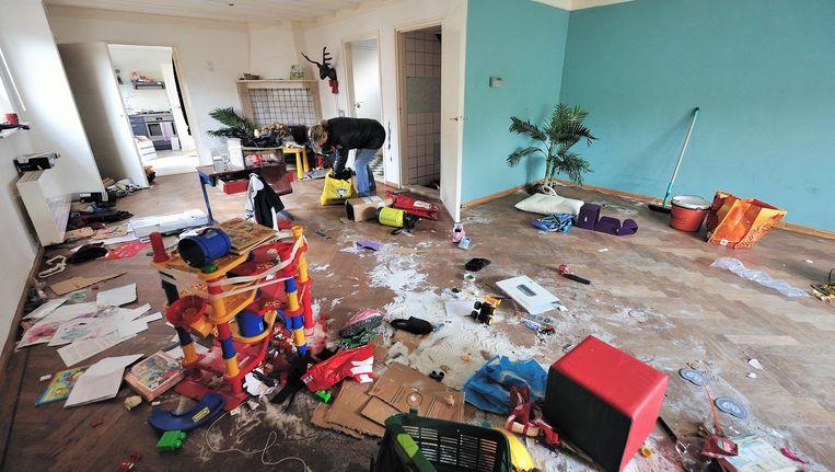 Asociale huurders laten puinzooi in huis achter for Compleet huis laten bouwen