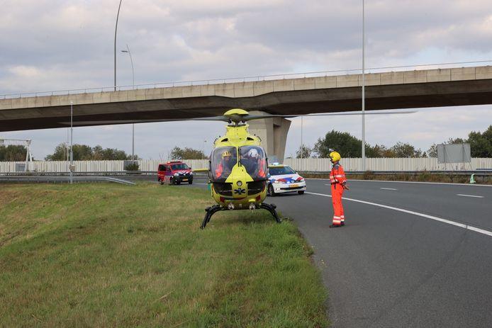 Zwaargewonde door ongeluk op de N2 bij Eindhoven.
