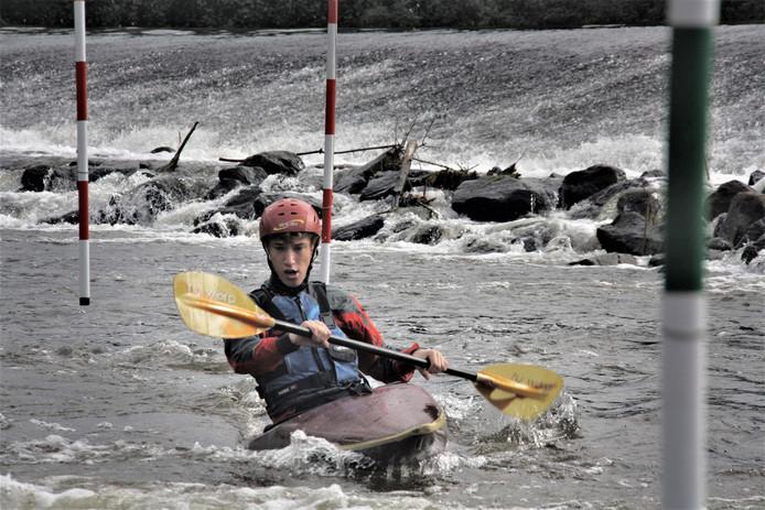Voor de kano's en kajaks van Wyrda wordt een nieuwe loods gebouwd op terrein van WSV De Greft.