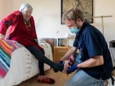 Bossche Amy Seerden en wijkverpleegkundige Mark hebben een bijzondere band met elkaar: 'Zij geeft mij levenslessen'