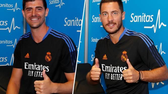 Thibaut Courtois en Eden Hazard melden zich bij Real Madrid: het seizoen van de laatste kans voor Hazard?