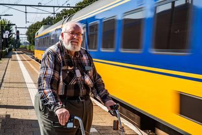 Willem uit Deventer is in één klap terug bij fataal treinongeluk na zien van beelden spoorloper Ermelo