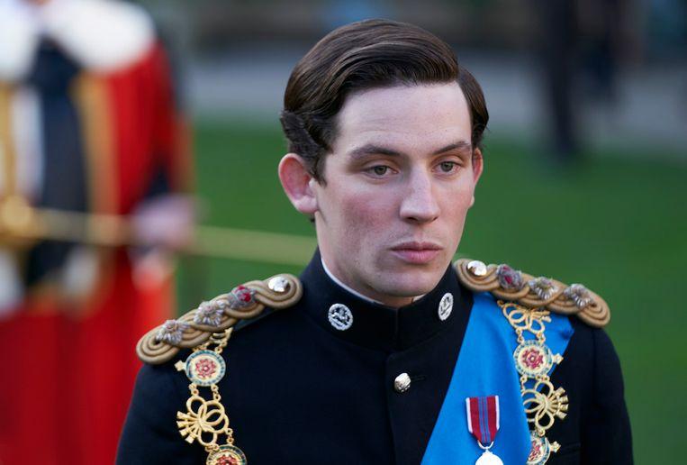 Josh O'Connor speelt de Britse prins Charles in de Netflixserie The Crown. Beeld Courtesy of Des Willie / Netflix