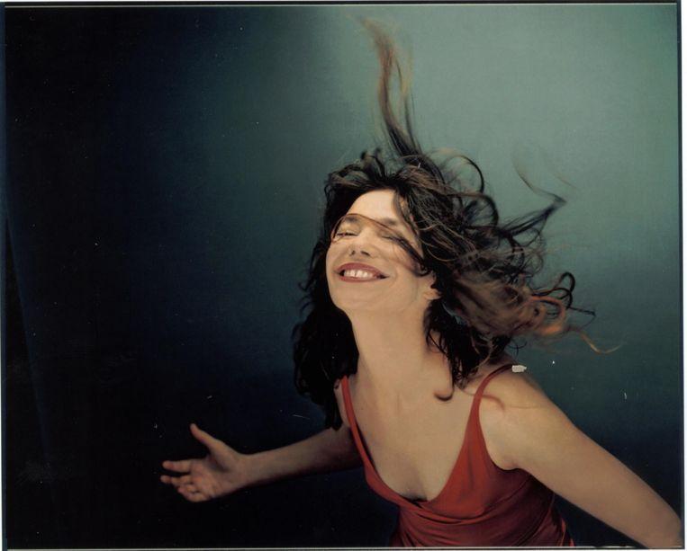 Jane Birkin door Gabrielle Crawford. Dit beeld sierde de cover van haar album 'Arabesque' uit 2002. Beeld Fairfax Media via Getty Images