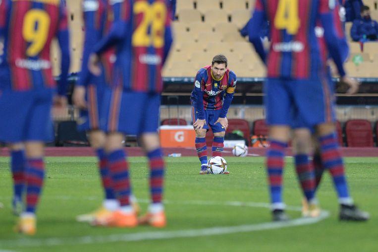 Lionel Messi. Beeld AFP