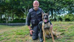 """""""Hij geeft me moed om door te gaan"""": politieman werkt met nieuwe patrouillehond, nadat Drago en Blue stierven bij verkeersongeval"""